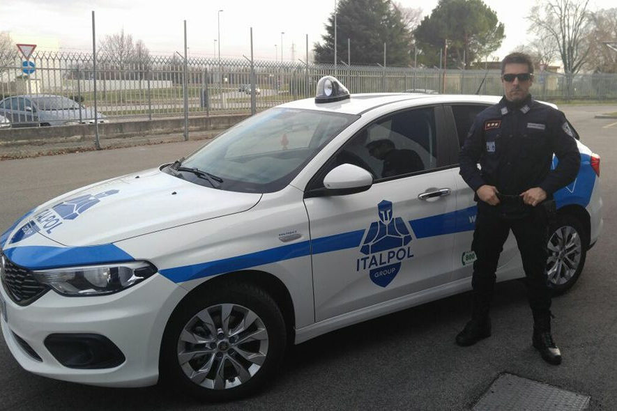 Marcello Dereatti comandante Italpol Group Spa