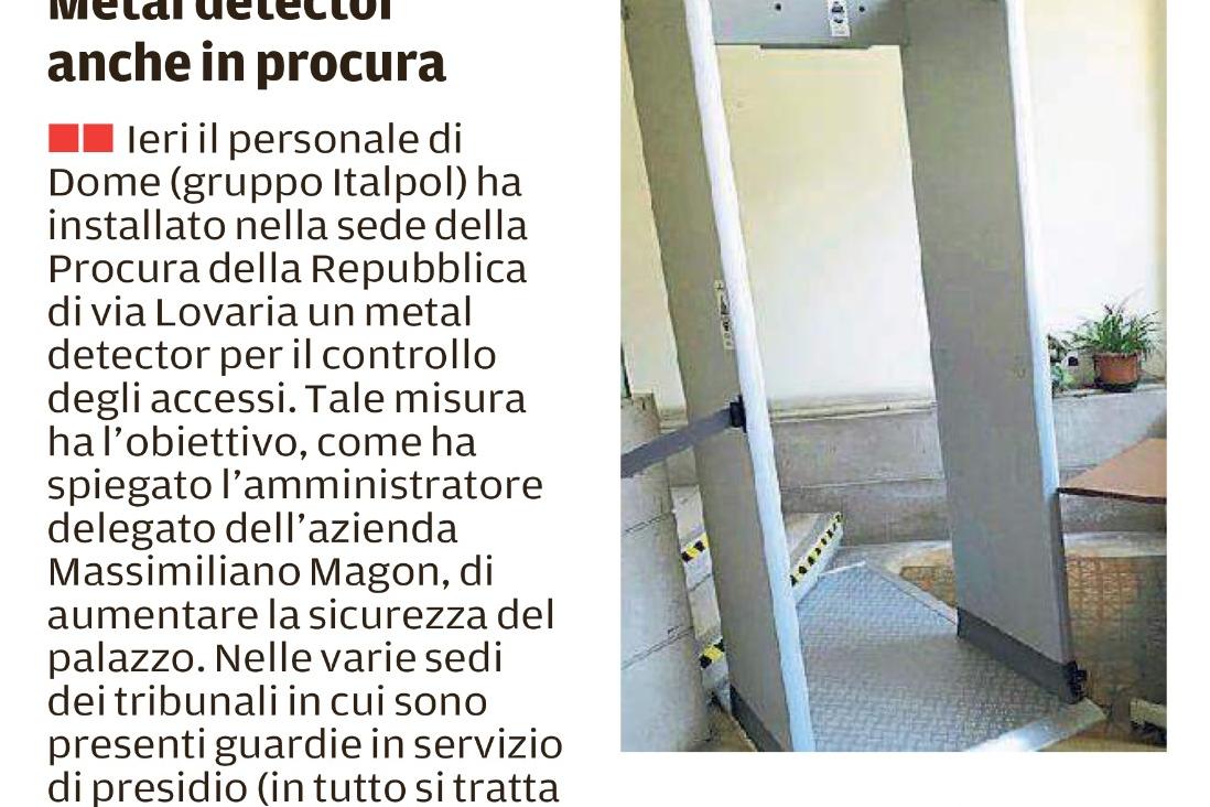 Metal detector e defibrillatori Italpol