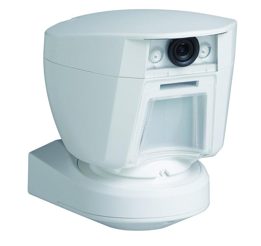 Rivelatore PIR infrarosso da esterno con fotocamera integrata