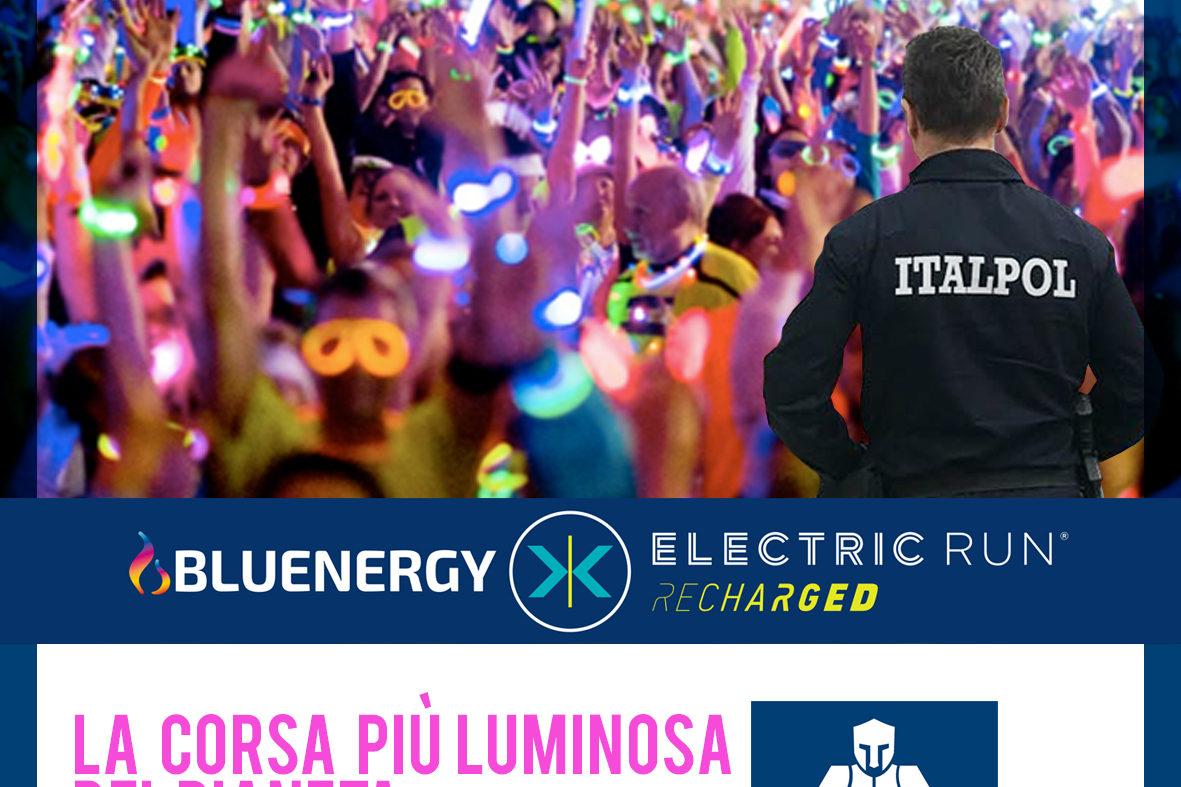 electric run italpol sicurezza eventi