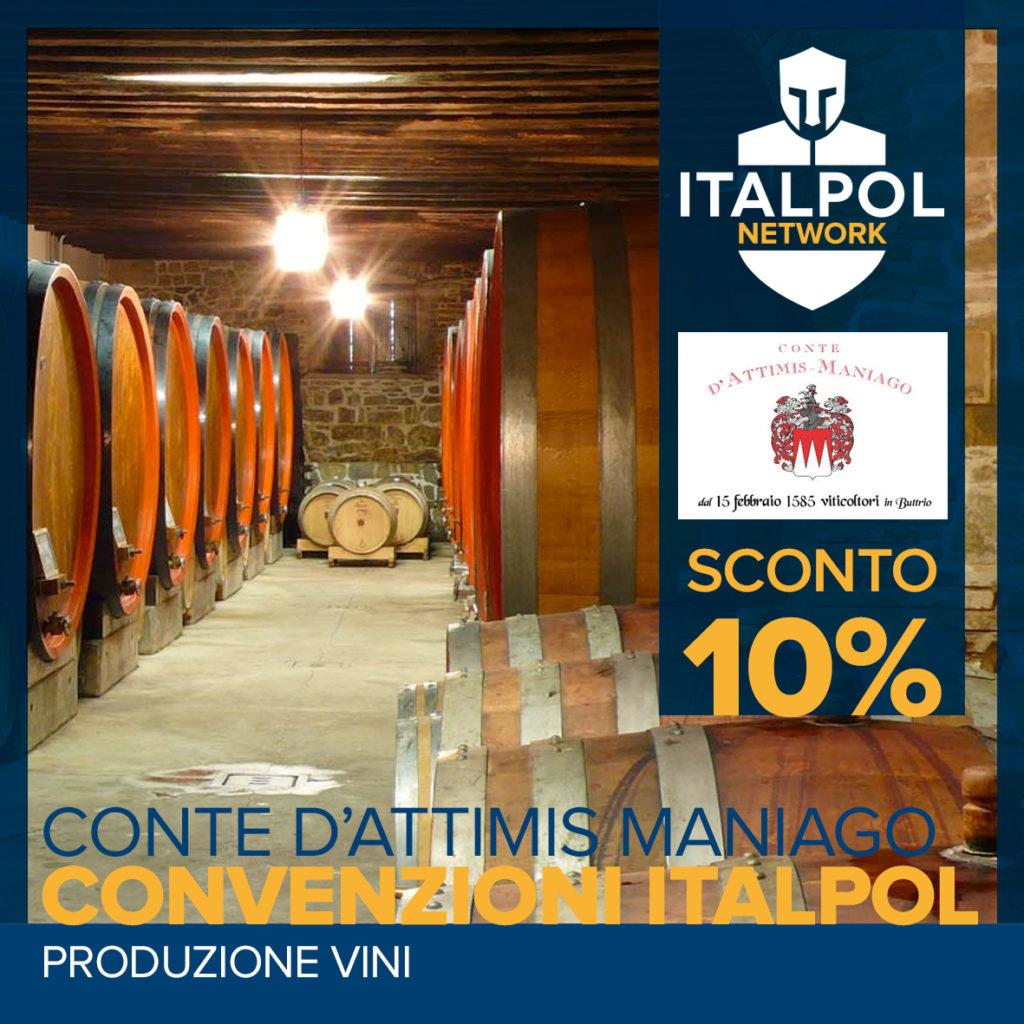 conte d'attimis maniago- convenzioni Italpol