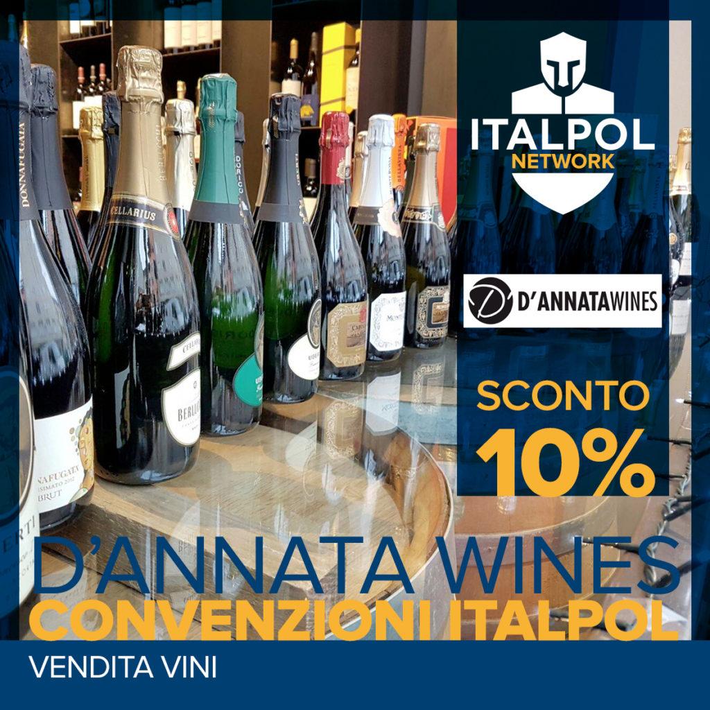 D'annata Wines - convenzioni Italpol