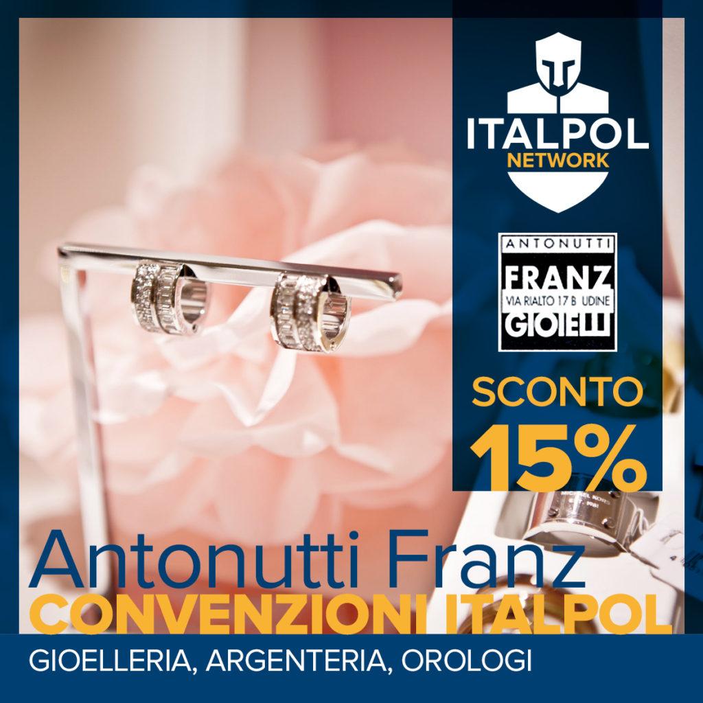 Antonutti Franz - convenzioni Italpol