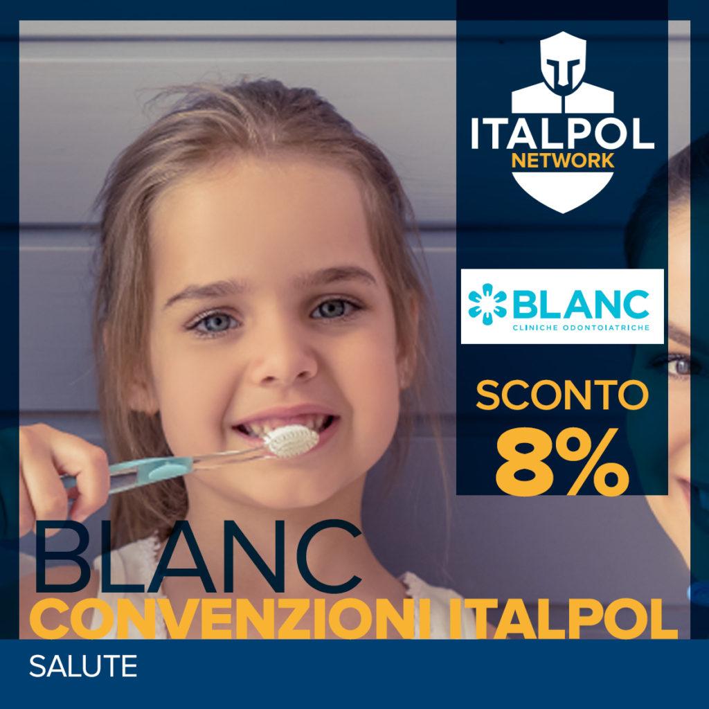 Cliniche Blanc - convenzione Italpol