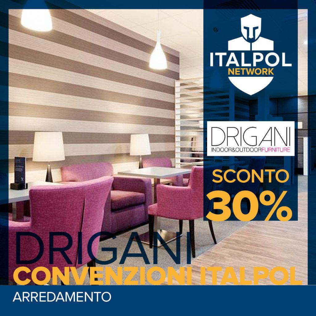 Drigani - convenzioni Italpol