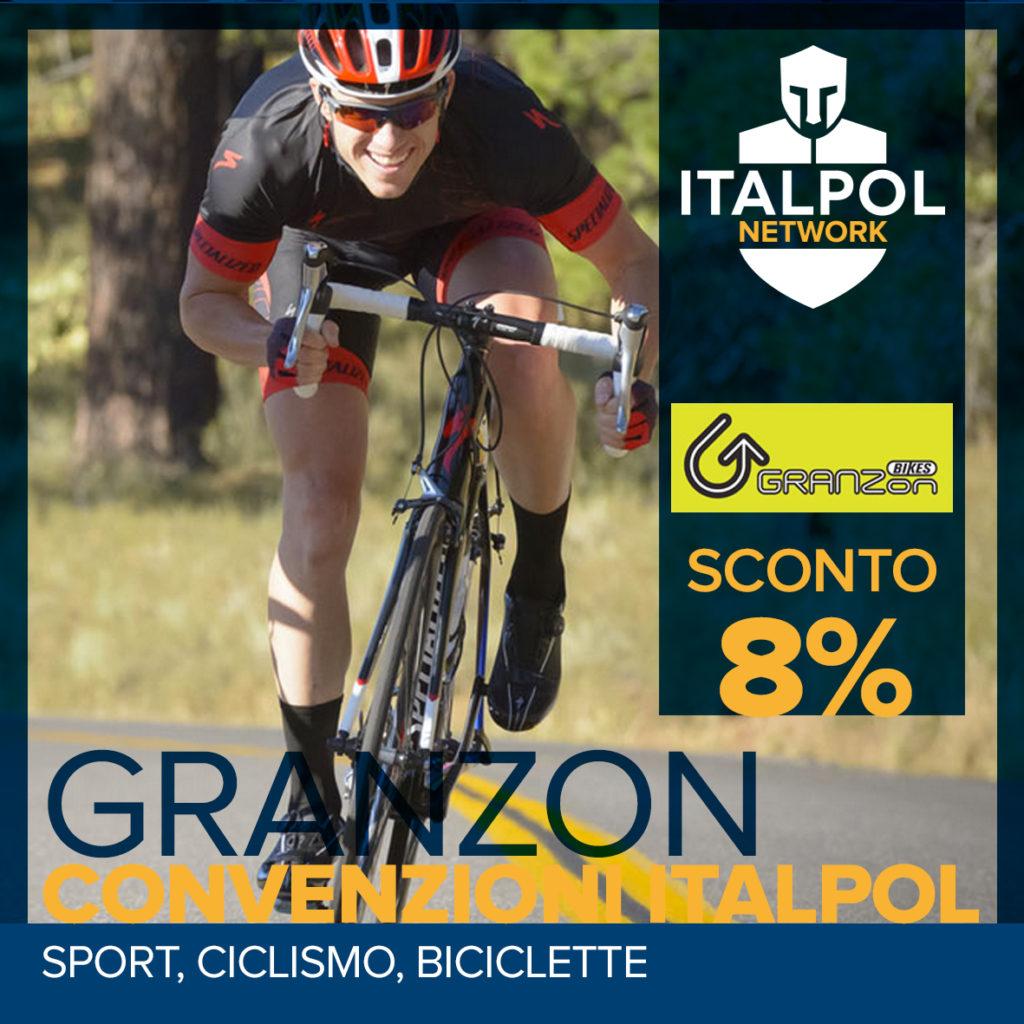 Granzon Bikes - convenzioni Italpol
