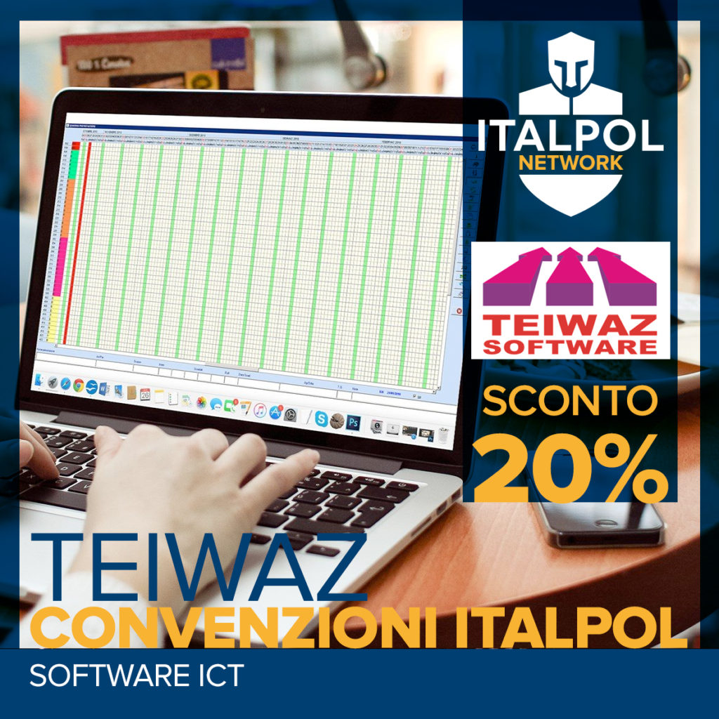 Teiwaz software - convenzioni italpol