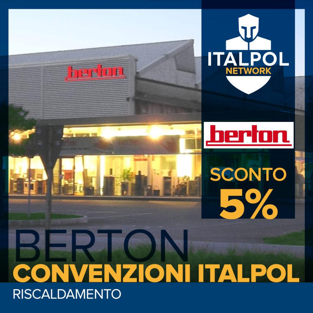 Berton calortecnica - convenzioni Italpol