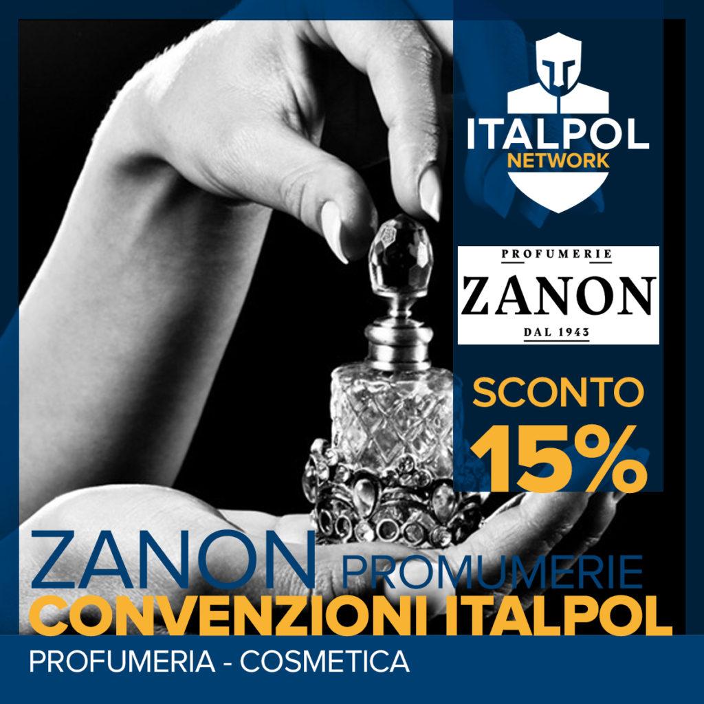 Profumerie Zanon convenzioni italpol