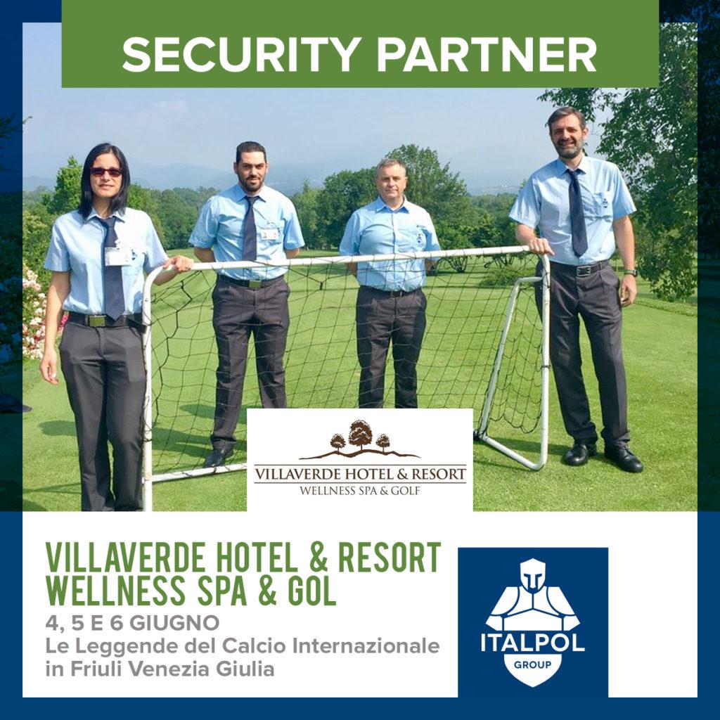 villaverde resort sicurezza eventi