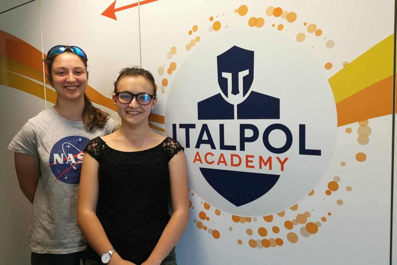 iris e letizia paolo diacono cividale alternanza scuola lavoro