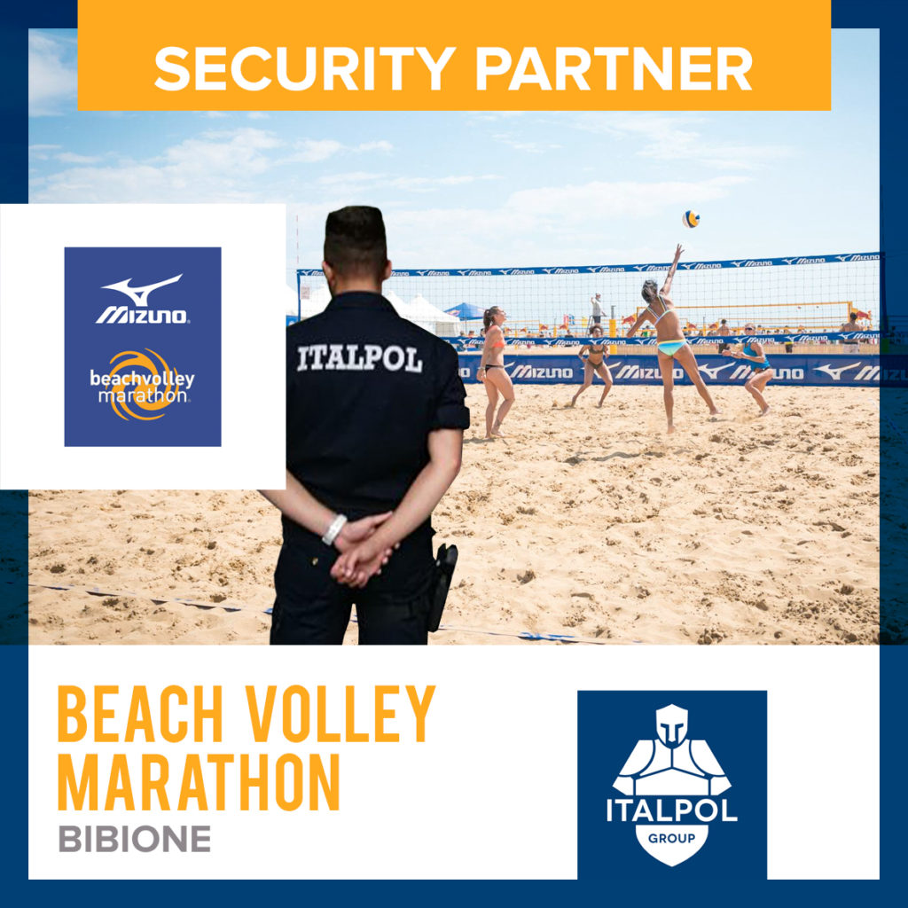 beach volley marathon bibione sicurezza eventi italpol
