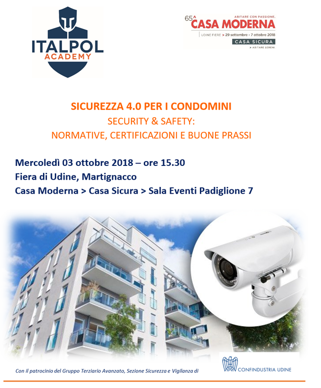 SECURITY & SAFETY sicurezza per i condominin