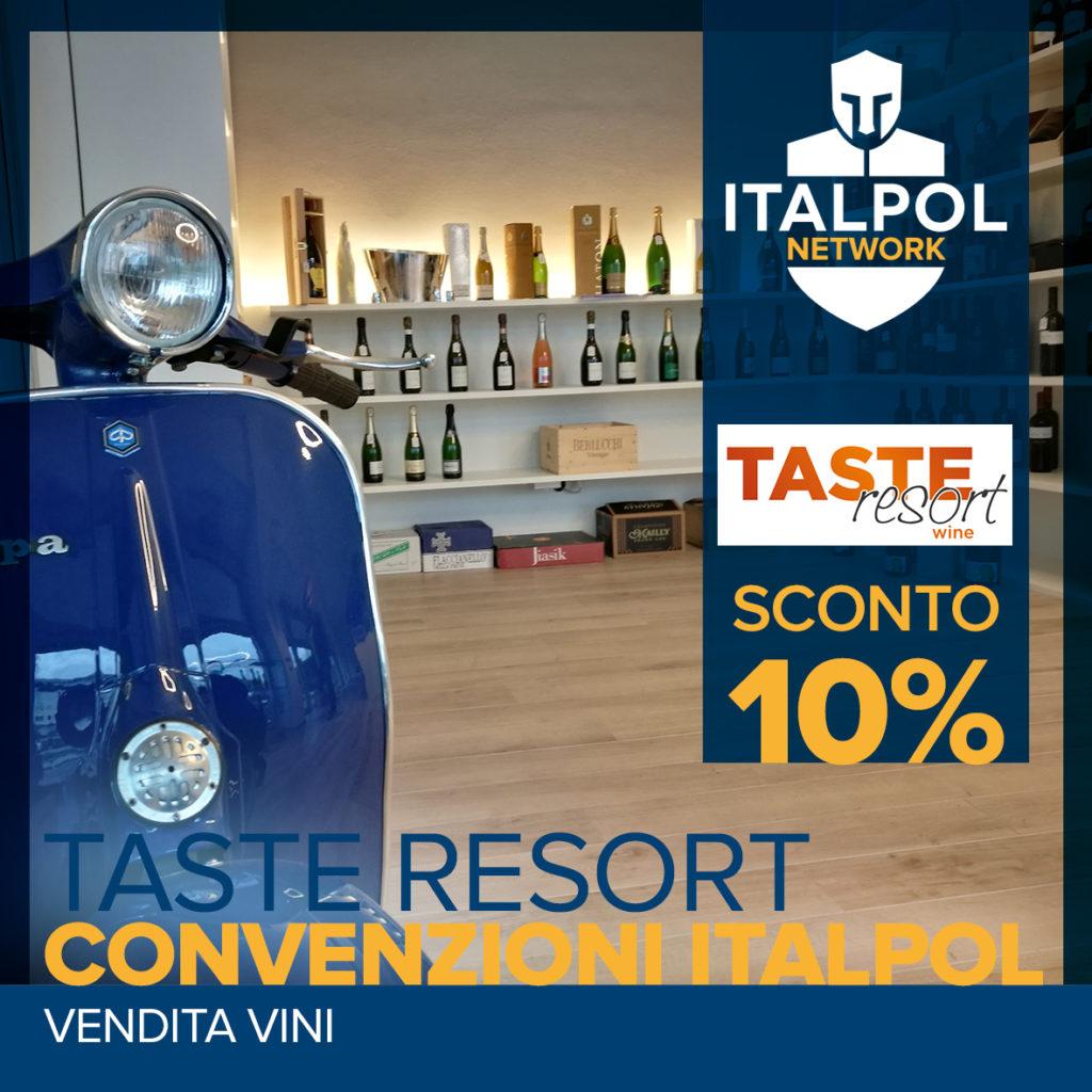 TASTE resort wince convenzione italpol