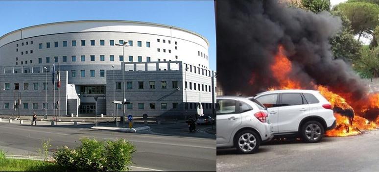 incendio tribunale padova